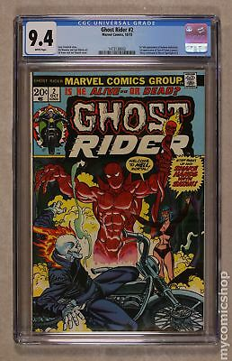 Ghost Rider (1st Series) #2 1973 CGC 9.4 1473138002
