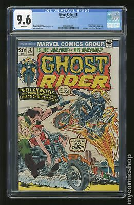 Ghost Rider (1st Series) #3 1973 CGC 9.6 0962606007