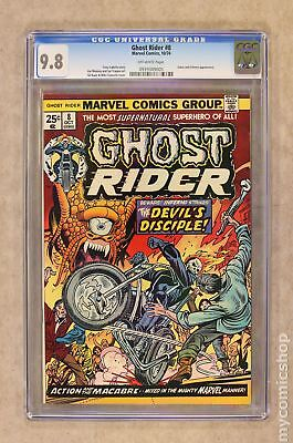 Ghost Rider (1st Series) #8 1974 CGC 9.8 0939389005