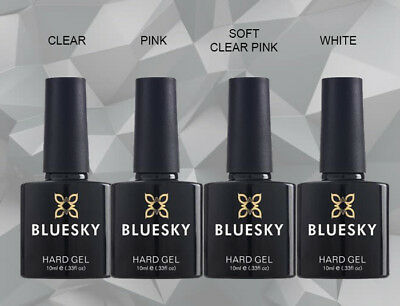 Bluesky HARD GEL Builder UV LED Soak Off Gel Nail Polish LIQUID 10ml FREE P&P