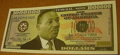 Wholesale Lot Of 100 Martin Luther King Jr Dream Money Bills Usa Fake Novelty Us