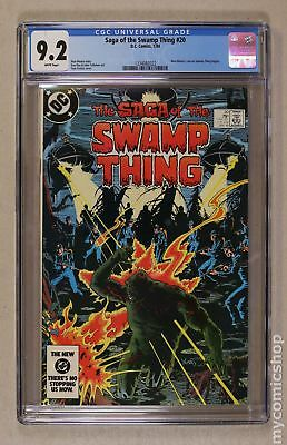 Swamp Thing (2nd Series) #20 1984 CGC 9.2 1334082022