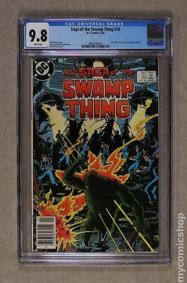 Swamp Thing (2nd Series) #20 1984 CGC 9.8 0962586003