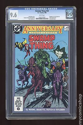 Swamp Thing (2nd Series) #50 1986 CGC 9.6 1263157001