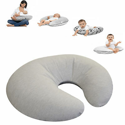 New 4Baby Pebble Grey 4 In 1 Nursing / Pregnancy Pillow Baby Support Cushion
