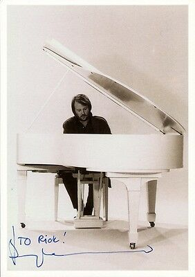 BENNY ANDERSSON Signed Photo - ABBA