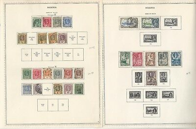 Nigeria & Northern Collection 1914-1963 on 11 Minkus Specialty Pages