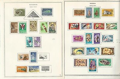 Nigeria & Northern Collection 1892-1974 on 27 Minkus Specialty Pages