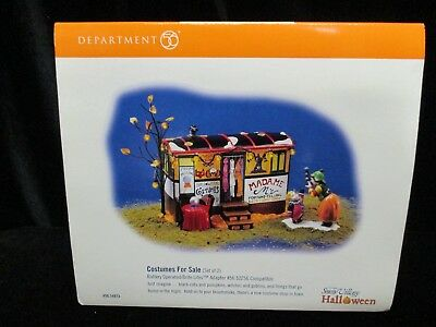 Halloween Department 56 Costumes for Sale ~ Retired ~ New ~ # 999