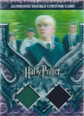 HARRY POTTER World in 3D Double Costume Card C4 - Slytherin Students #156/260