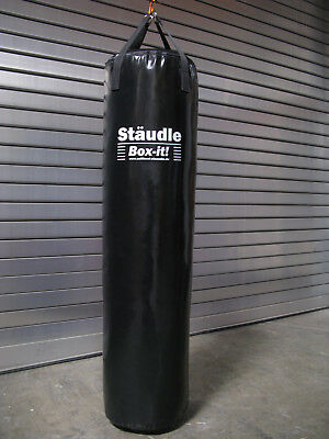 Profi Kick Boxsack Sandsack Power Training leer 160 schwarz MMA Made in Germany
