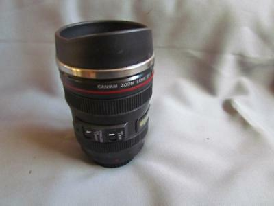 Caniam Camera Lens Travel Coffee Mug