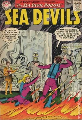Sea Devils #19 1964 GD/VG 3.0 Stock Image Low Grade