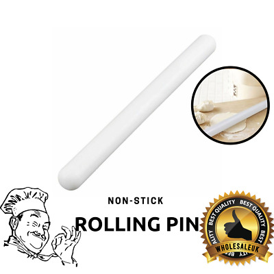 "9"" 22cm Non Stick Rolling Pin Baking Cake Pie Dough Decoration Fondant Icing NEW"