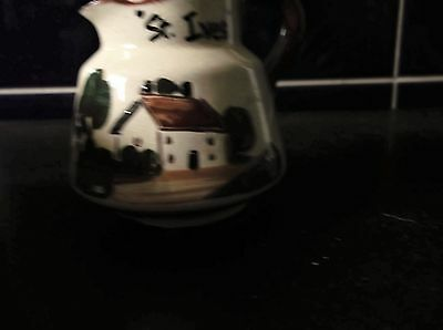 Vintage Watcombe Torquay Motto Cottage Ware Cream Jug St Ives Don't Be Shy