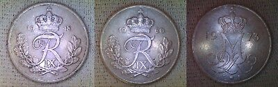 DENMARK 10 Ore Choice of Dates 1948 to 1988 Discounts up to 25%