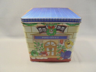 """M&M-Tolle WEIHNACHTS-BLECHDOSE-""""LETTERS FOR SANTA""""-Limited Edition Dose,1995 !"""