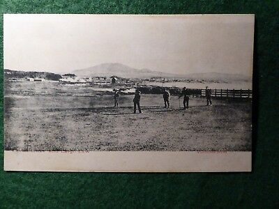 Fife Golf.   Leven Links.   Rare And Early Golfing Postcard. Near St Andrew's.