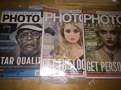 PROFESSIONAL PHOTO MAGAZINE - selection of issues available