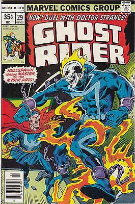 Ghost Rider #29 Vf To Vf+