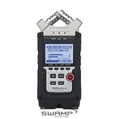 Zoom H4n PRO Handy 4 Track Channel Portable Digital Audio Field Recorder