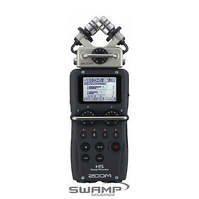 Zoom H5 Handy Portable Field Recorder with Interchangeable Microphone System