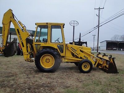 555 Ford 2Wd Diesel Backhoe Only 4017 Hours