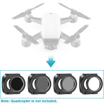 Neewer 4 Pieces Filter Set UV ND4 ND8 ND16 for DJI Spark Drone Quadcopter