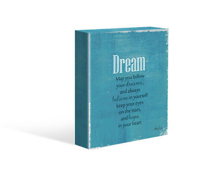 Kelly Lane DREAM Canvas Free Stand or Hang Brand New