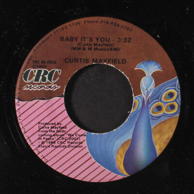 CURTIS MAYFIELD: Baby It's You / Breakin' In The Streets  45 Soul