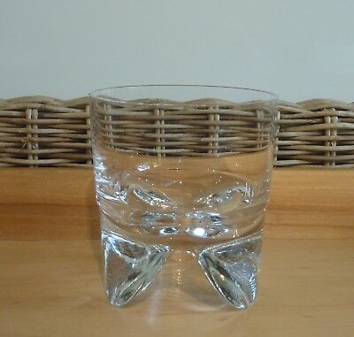 "1 x  IITTALA ""KIPPIS""  Whisky Glass - Design by Timo Sarpaneva - Made in Finland"