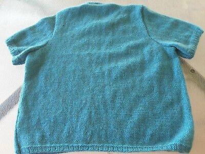 Handknitted Lady's Top in a  New Zealand  wool