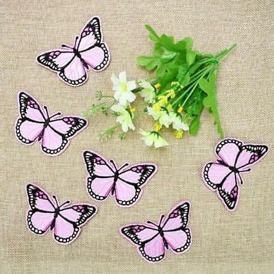 Butterfly Bird Embroidered DIY Iron on Patch Clothes Badge BS