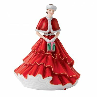 Royal Doulton Ladies A Christmas Gift 2012 Figure of the Year HN 5780 NEW in box