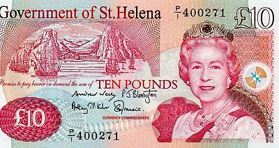 BRITISH COMMONWEALTH  St HELENA 2012 £10 NOTE PREFIX  P/1 400271  UNC
