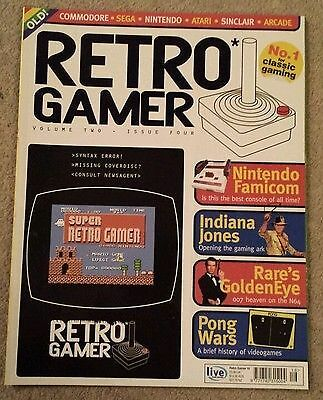 Retro Gamer Magazine (But No Cover Disc Cd) 2005 Volume 2 Issue 4