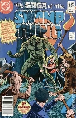 Swamp Thing (2nd Series) #1 1982 FN+ 6.5 Stock Image