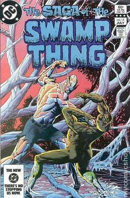 Swamp Thing (2nd Series) #15 1983 VF- 7.5 Stock Image