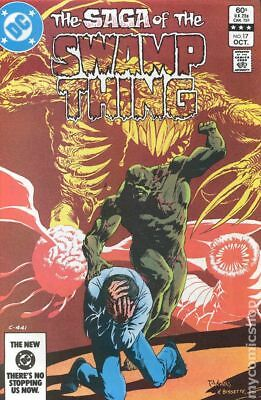 Swamp Thing (2nd Series) #17 1983 FN Stock Image