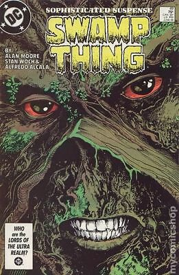 Swamp Thing (2nd Series) #49 1986 FN+ 6.5 Stock Image