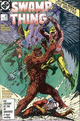 Swamp Thing (2nd Series) #58 1987 FN Stock Image
