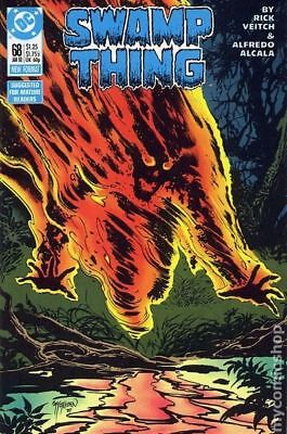 Swamp Thing (2nd Series) #68 1988 FN Stock Image