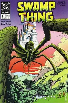 Swamp Thing (2nd Series) #87 1989 FN Stock Image