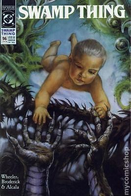 Swamp Thing (2nd Series) #96 1990 VF Stock Image