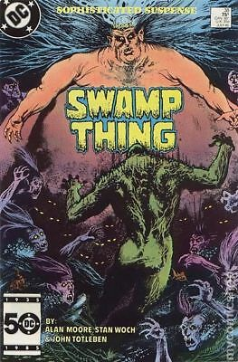 Swamp Thing (2nd Series) #38 1985 FN Stock Image