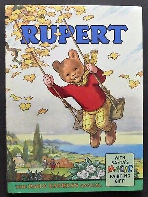 Rupert Annual 1961..original...not Inscribed Or Clipped...magic Paints Untouched