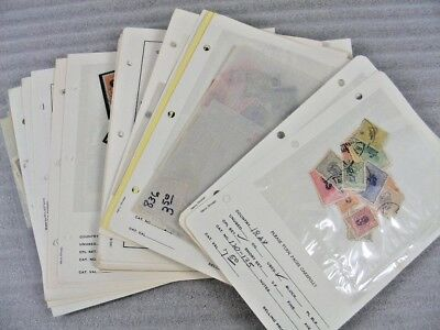 MIDDLE EAST(PERS-), Excellent Assortment of Stamps mostly in dealer pages