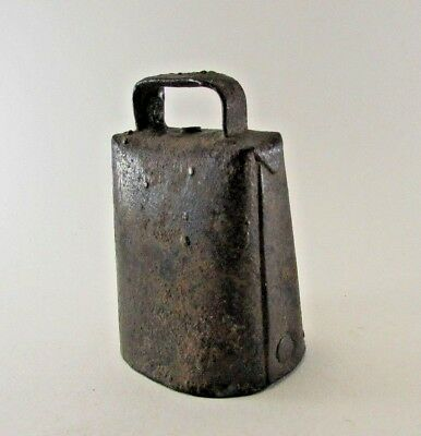 Antique Vintage Cow Goat Dairy Farm Bell Hand Forged & Pinned Farm Fresh!