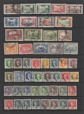 Iraq early collection , 103 stamps.