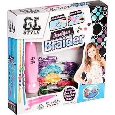 Girls Fashion Braider Hair Braiding Set - Decorate Your Hair With Fab Beads